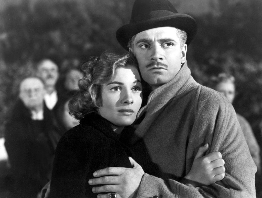 """""""<a href=""""http://movies.yahoo.com/movie/1800110398/info"""">Rebecca</a>,"""" directed by Alfred Hitchcock  """"I love the film because it's so atmospheric and creepy. Olivier had a great exotic look with a goatee. By this time, he was a fully fledged Hollywood star -- he'd been Heathcliff in 'Wuthering Heights,' and he seemed so confident. With his smoldering looks and the quality of his voice, he was a perfect fit for the picture."""""""