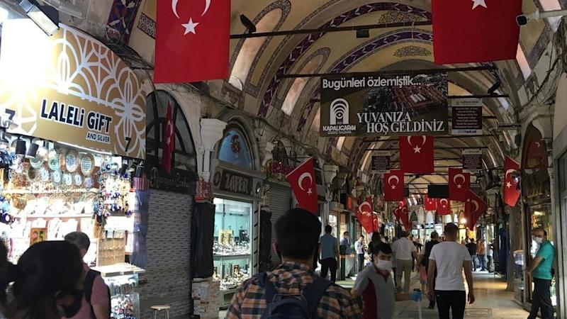 Istanbul's Grand Bazaar, closed by Covid, back in business after 70 days