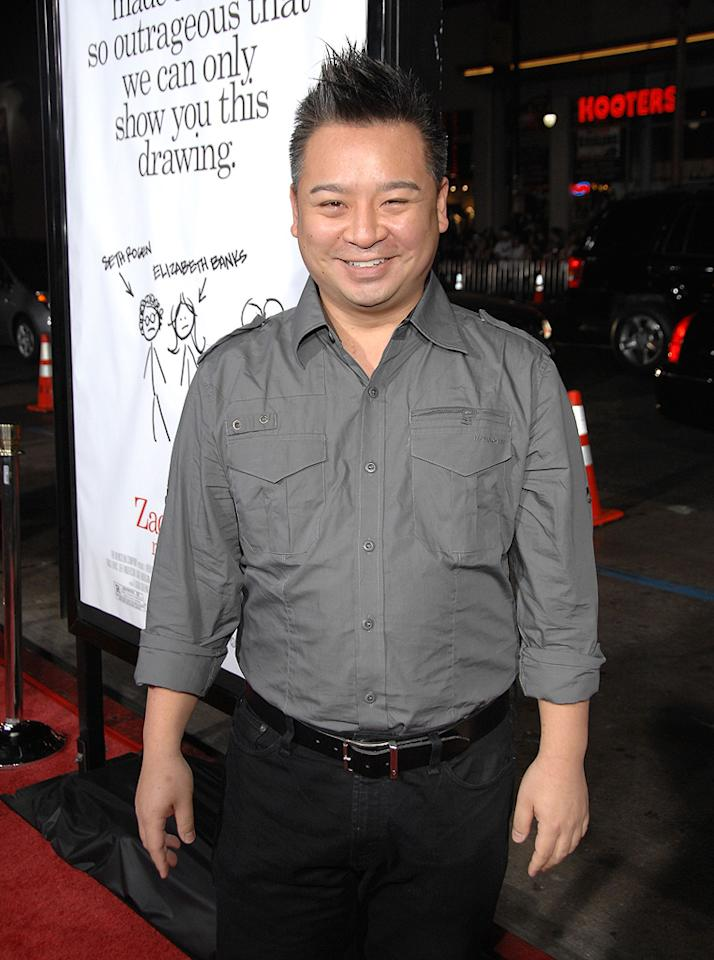"""<a href=""""http://movies.yahoo.com/movie/contributor/1809766986"""">Rex Lee</a> at the Los Angeles premiere of <a href=""""http://movies.yahoo.com/movie/1809958867/info"""">Zack and Miri Make a Porno</a> - 10/20/2008"""