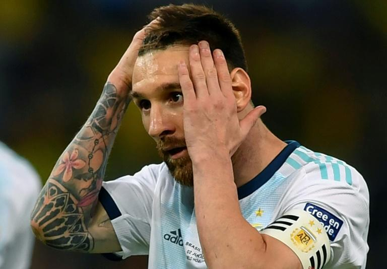 Barcelona captain Messi banned 3 months from international football