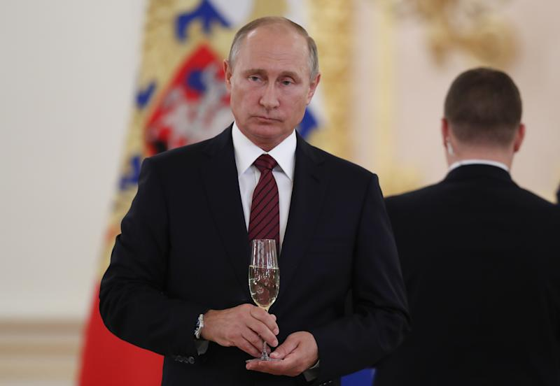 Vladimir Putin's Birthday: Protests Call for His Exit As He Hits Retirement Age Under Russian Law