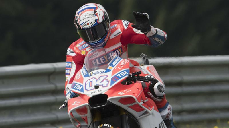 Dovizioso holds off Marquez to win gripping Austrian MotoGP