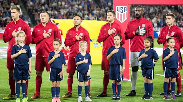 "<p>A couple of days after <a href=""https://www.si.com/soccer/2018/02/10/carlos-cordeiro-us-soccer-president-election"" rel=""nofollow noopener"" target=""_blank"" data-ylk=""slk:U.S. Soccer elected its new president"" class=""link rapid-noclick-resp"">U.S. Soccer elected its new president</a>, the U.S. men's national team has its new marching orders for the 2018 slate of international dates.</p><p>The U.S. men will host Paraguay in North Carolina during the fixture window in late March before heading to Europe for a pair of June friendlies against Ireland and France, U.S. Soccer announced on Monday.</p><p>The first of the matches will take place in Cary's Sahlen Stadium on March 27, with the Americans only playing one match in the window. The two sides last met in the Copa America Centenario group stage, with the USA winning 1-0 on a Clint Dempsey goal to reach the knockout rounds.</p><p>The U.S. will then play Ireland at Aviva Stadium in Dublin on June 2 before facing France on June 9 at Groupama Stadium in Lyon. Ireland missed out on a World Cup berth after falling in the UEFA qualifying playoffs to Denmark. France, meanwhile, will be one of the favorites in Russia and will be using the match as a tune-up before embarking on group play vs. Australia, Peru and Denmark.</p><p>""Serious about the ambition to field a men's team considered among the best in the world, U.S. Soccer will continue to seek matches against world-class soccer nations and in world-class venues,"" U.S. Soccer wrote in a statement. ""More high-profile games are expected to be added for the friendly dates in September, October and November, which will deliver one of the most demanding non-tournament schedules in MNT history.""</p><p>Who will lead the U.S. in those future matches remains to be seen, but it figures to be <a href=""https://www.si.com/soccer/2018/01/26/usa-bosnia-herzegovina-friendly-dave-sarachan-usmnt-preview"" rel=""nofollow noopener"" target=""_blank"" data-ylk=""slk:interim manager Dave Sarachan"" class=""link rapid-noclick-resp"">interim manager Dave Sarachan</a> who remains at the helm for the friendly vs. Paraguay at the very least.</p><p>Under new president Carlos Cordeiro, U.S. Soccer is expected to name a general manager/technical director on both the men's and women's sides, with personnel decisions expected to fall under that umbrella.</p><p>With Sarachan in charge, the U.S. men are 0-0-2, drawing Portugal 1-1 in November before playing Bosnia-Herzegovina to a 0-0 draw to close last month's January camp. Unlike for the January match, the U.S. will have the whole player pool at its disposal for these three friendlies given that they are on FIFA dates.</p>"