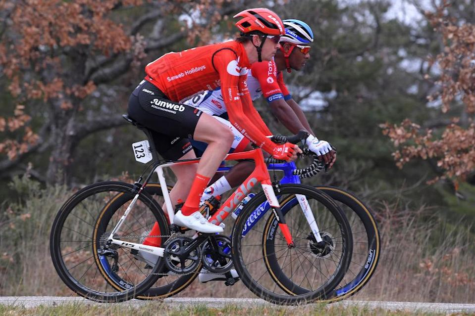 Chad Haga at the 2020 Tour de la Provence