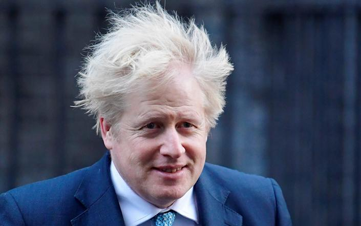 Boris Johnson has confirmed he does own a hair brush - REUTERS/Toby Melville/REUTERS/Toby Melville