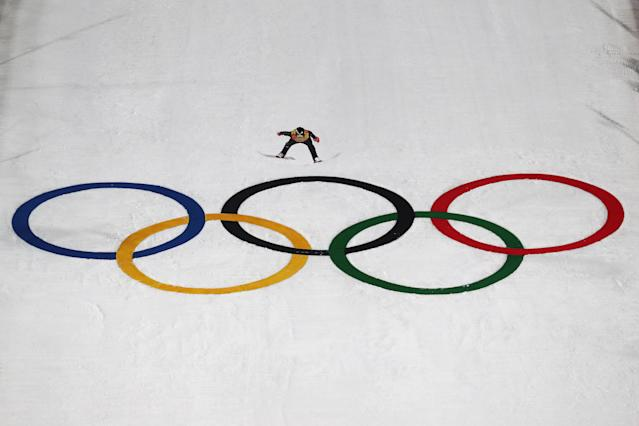 Three American ski jumpers in the Olympics callNorge Ski Club in Fox River Grove, Illinois, their home. (Getty)