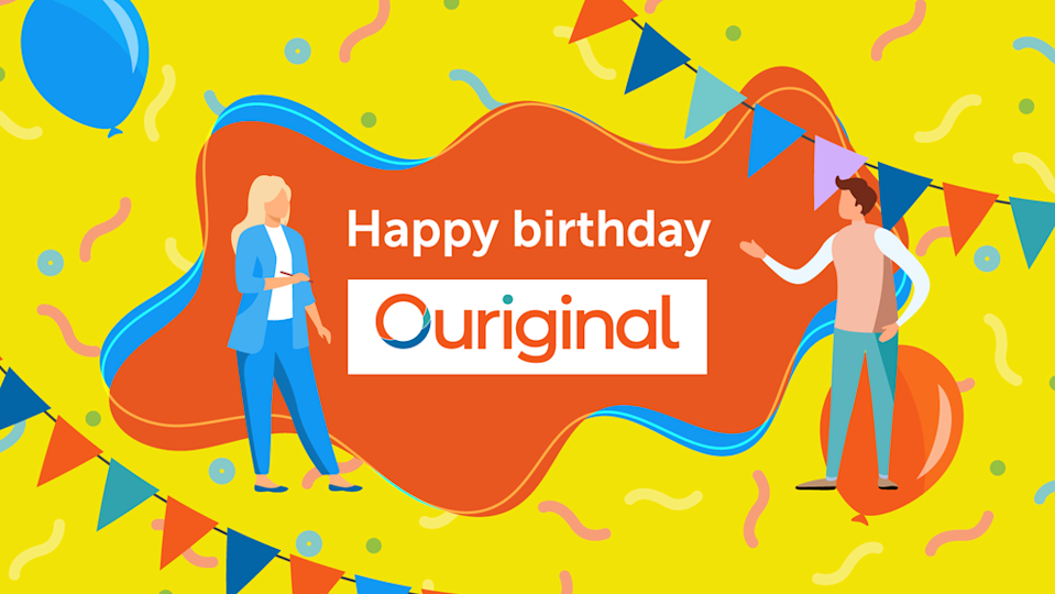 Ouriginal celebrates its first anniversary