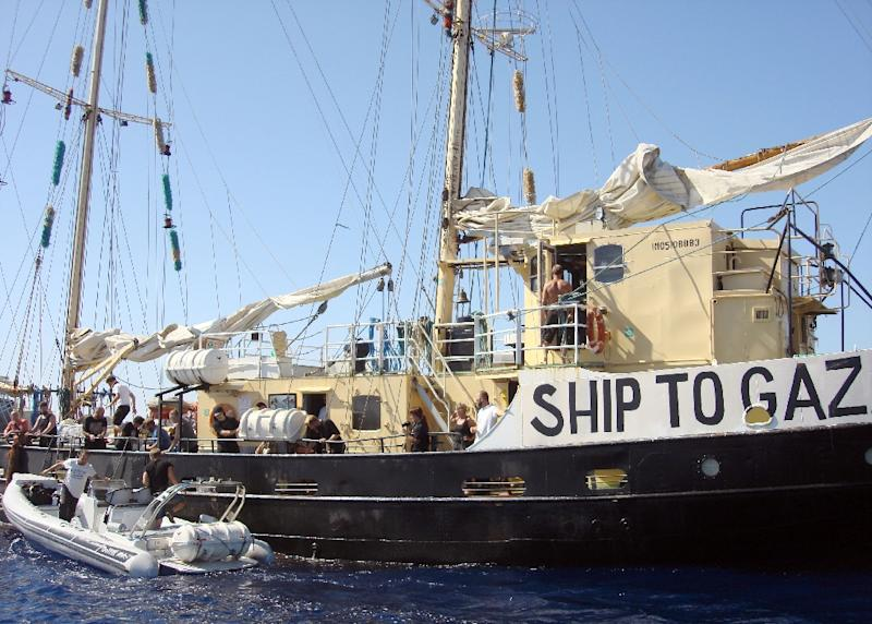 Ship to Gaza's Estelle voyage was one of several unsuccessful attempts to breach Gaza blockade