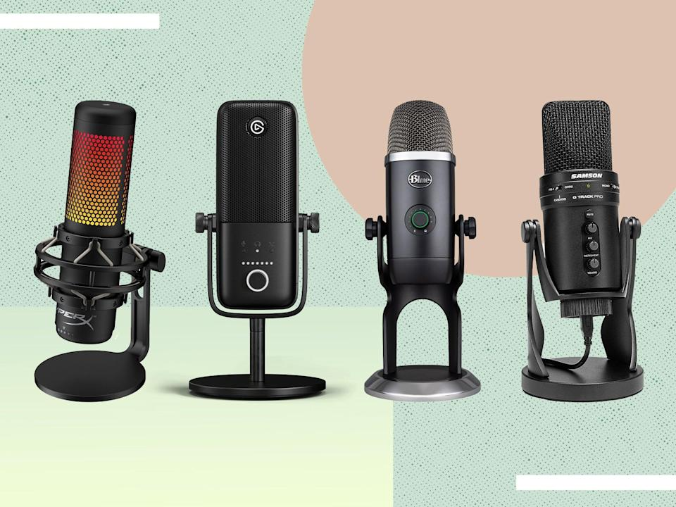 <p>A dedicated microphone is the one upgrade that will make the biggest difference to your stream</p> (iStock photo/The Independent )