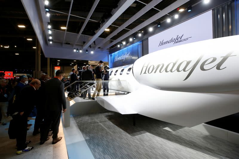 World's largest air show for business jets opens in Las Vegas