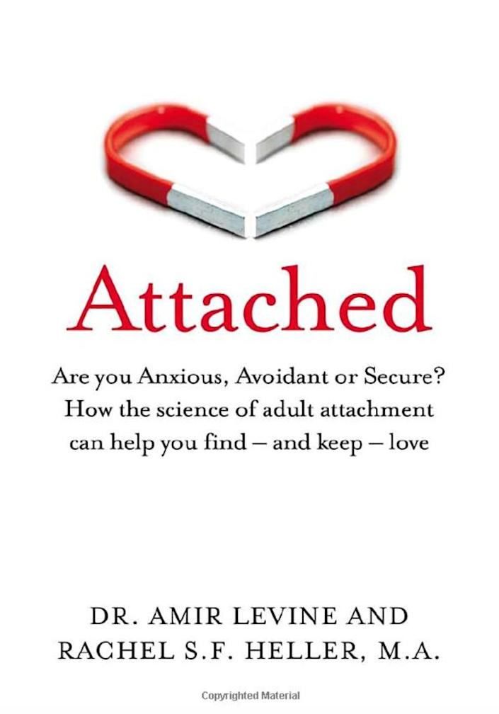 """""""The book I recommend to almost every couple client, as well as to many individual clients, is 'Attached.' I firmly believe that an insecure attachment style -- one in which people are either too anxious or too aloof -- is at the root of most relationship problems, especially those with ongoing conflict. What therapists see a lot is one person with abandonment issues in a relationship with someone who needs a lot of distance -- this typically results in chaos and drama that makes both people miserable. I'm amazed at how well the authors distill something as complex as attachment theory so that the reader can easily apply it to their lives. I also love that they give people actionable tools on how to modify an insecure attachment style. The authors go against conventional wisdom by discouraging anxiously attached people from playing hard-to-get games in the beginning of the relationship, which will just attract someone who avoids intimacy. Instead, they urge people with abandonment issues to be transparent about wanting a serious relationship; this will weed out the commitment-phobes, and attract those who are ready for a secure, healthy relationship."""" --&nbsp; <i><a href=""""https://virginiagilbertmft.com/"""" rel=""""nofollow noopener"""" target=""""_blank"""" data-ylk=""""slk:Virginia Gilbert"""" class=""""link rapid-noclick-resp"""">Virginia Gilbert</a></i><i>, a marriage and family therapist in Los Angeles and the author of """"Transcending High-Conflict Divorce<br><br></i><br><strong><i><a href=""""https://www.amazon.com/Attached-Anxious-Avoidant-science-attachment/dp/1529032172/ref=sr_1_5?keywords=Attached%3A+The+New+Science+of+Adult+Attachment+And+How+It+Can+Help+You+Find&amp;qid=1566584707&amp;s=books&amp;sr=1-5&amp;tag=thehuffingtop-20"""" rel=""""nofollow noopener"""" target=""""_blank"""" data-ylk=""""slk:Get &quot;Attached&quot; by Amir Levine and Rachel S.F. Heller"""" class=""""link rapid-noclick-resp"""">Get """"Attached"""" by Amir Levine and Rachel S.F. Heller</a></i></strong>"""