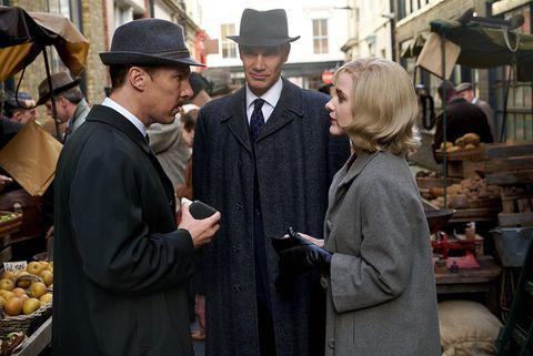 """<p><strong>Release date: March 19th on on selected digital platforms</strong></p><p>Originally named Ironbank, The Courier premiered at last year's Sundance Film Festival with glowing reviews. </p><p>The stylish period drama stars Benedict Cumberbatch as a British businessman who is tasked with helping MI6 try to defuse the 1962 Cuban Missile Crisis. While The Marvellous Mrs Maisel's Rachel Brosnahan plays a CIA official who works with Cumberbatch's character to form a clever plan.</p><p><a href=""""https://www.instagram.com/p/CKPhQu2lbB8/"""" rel=""""nofollow noopener"""" target=""""_blank"""" data-ylk=""""slk:See the original post on Instagram"""" class=""""link rapid-noclick-resp"""">See the original post on Instagram</a></p>"""