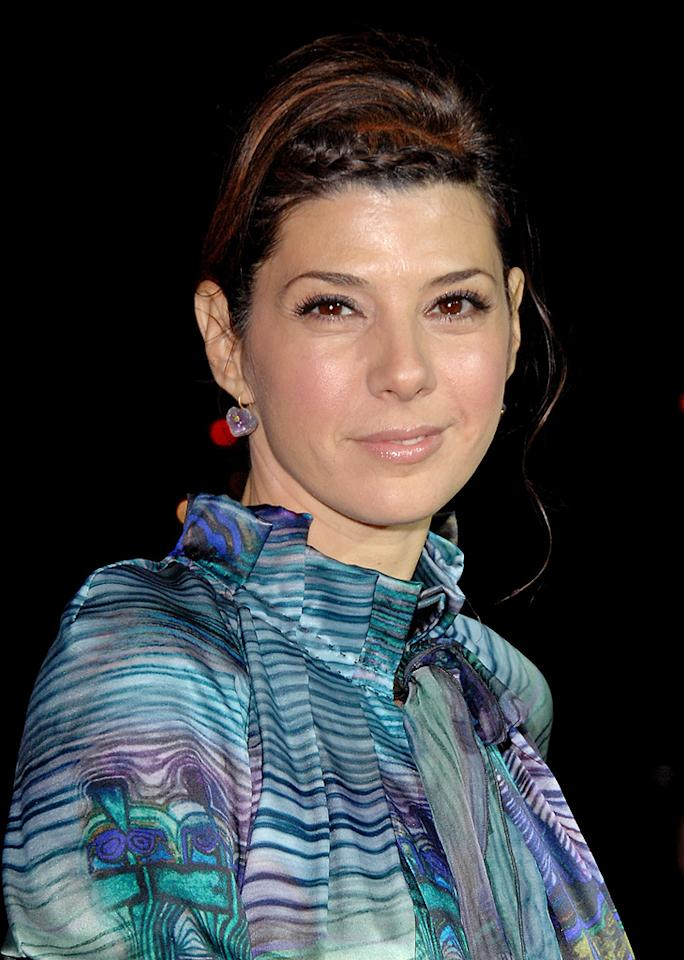 """<a href=""""http://movies.yahoo.com/movie/contributor/1800024659"""">Marisa Tomei</a> at the Los Angeles premiere of <a href=""""http://movies.yahoo.com/movie/1810041985/info"""">Milk</a> - 11/13/2008"""