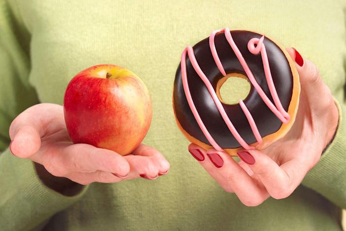 "<p>Researchers in St. Louis reported that men and women who limited their daily calories to 1,400 to 2,000 (about 25% fewer calories than those who followed a typical 2,000-to 3,000-calorie Western diet) were literally young at heart — their hearts functioned like those of people 15 years younger. ""It's about not just eating less but getting the most nutrition per calorie,"" says study author Luigi Fontana, MD, PhD, associate professor of medicine at Washington University School of Medicine. Study subjects stuck to vegetables, whole grains, fat-free milk, and lean meat and nixed white bread, soda, and candy. If you cut empty calories and eat more nutrient-rich foods, your health will improve, says Fontana. </p>"