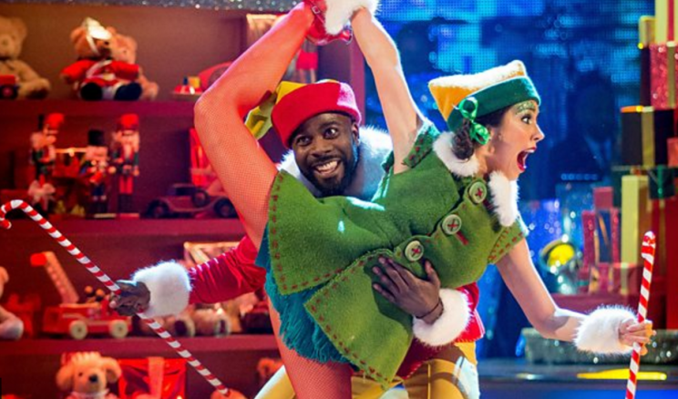 Melvin and Janette win the Strictly Come Dancing Christmas Special