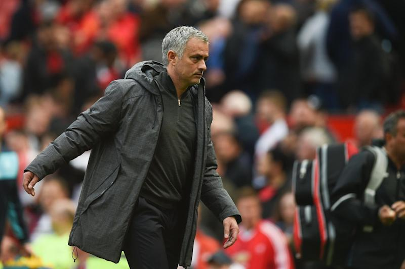 Dilemma: Jose Mourinho's United play Southampton on the Wednesday before the final Sunday of the season: AFP/Getty Images