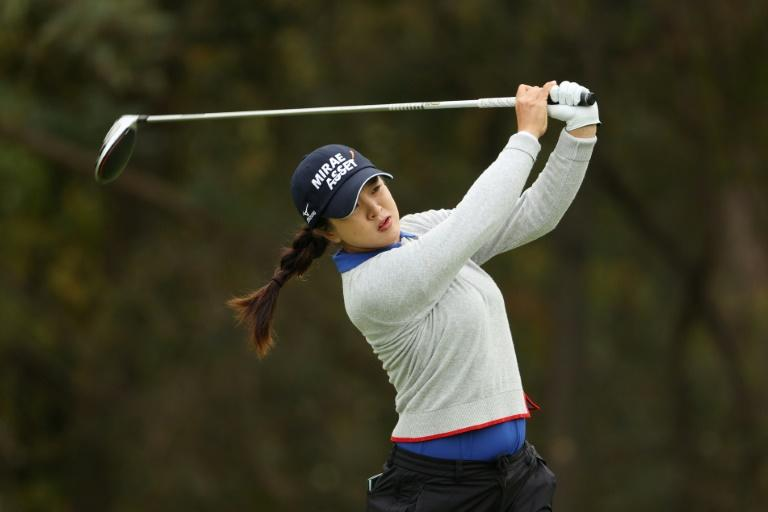Kim stretches lead to two strokes at Women's PGA