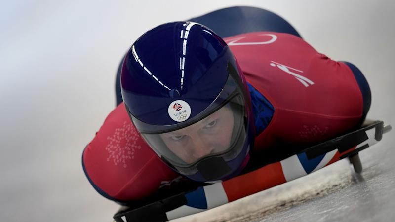 Dom Parsons slides into Olympics medal contention and downplays tech influence