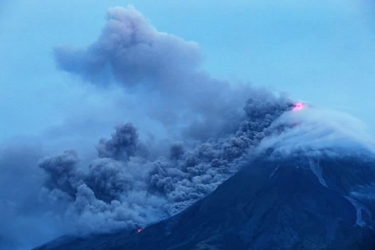 Hotels reported getting more tourist bookings and people flocked to viewing decks to watch the volcano from a distance