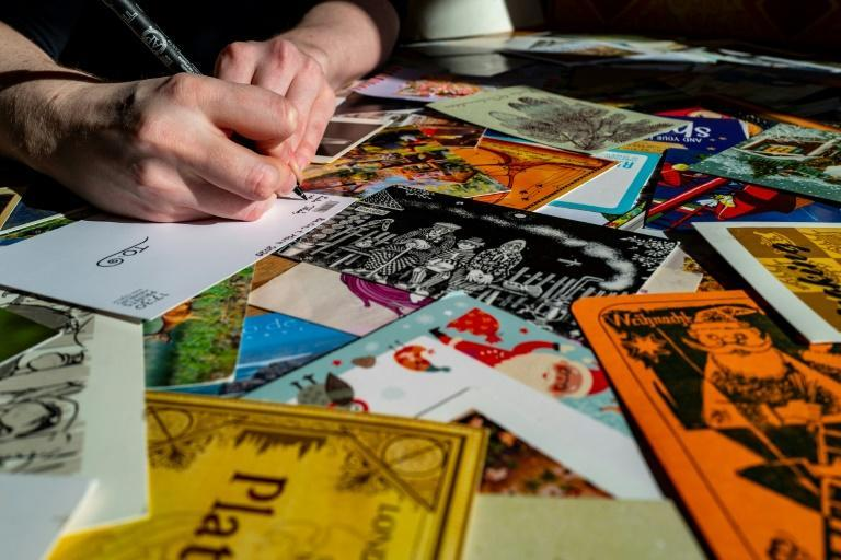 Many Germans have taken to writing postcards during the pandemic