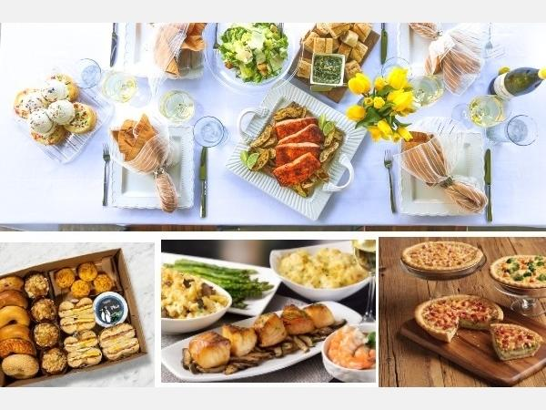 CPK, Marie Callender's, Eddie V's and Bruegger's Bagels are among San Diego County restaurants rolling out the red carpet for Mom with their to-go and delivery feasts.