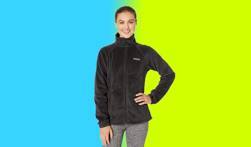 This hoodie is meant for movement. (Photo: Zappos)
