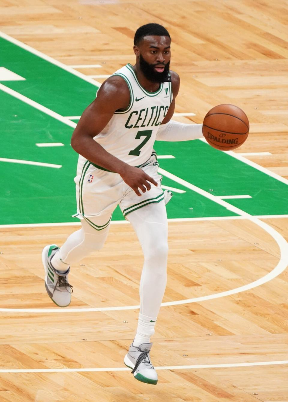 Jaylen Brown and the Celtics have three in a row and four of five.
