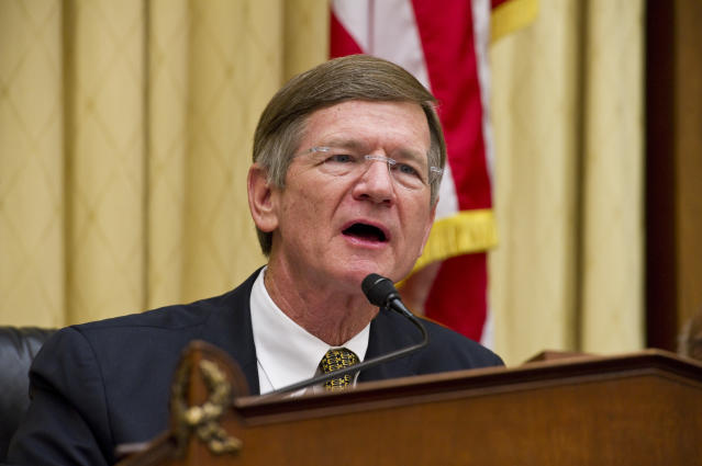 Rep. Lamar Smith (R-Texas) has a history of attacking federal climate scientists. (Scott J. Ferrell via Getty Images)