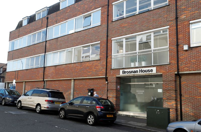 A view of a building on Darkes Lane in Potters Bar