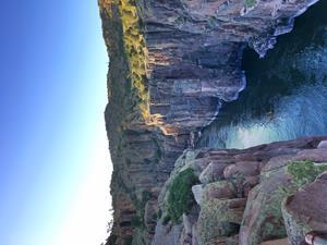 Situated a 30-minute drive from Casper is Fremont Canyon. Its steep cliffs play host to rock climbers, while the waters below serve as a playground for kayakers, fishermen and boaters, making it one of the most stunning places in Wyoming.