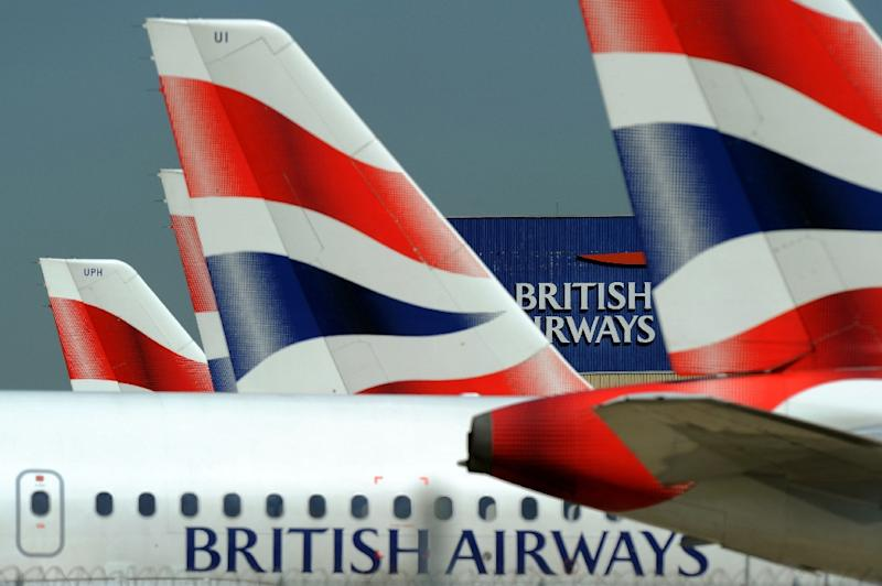 British Airways announced a major order of Boeing 777-9 planes weeks after the US giant's European rival Airbus pulled the plug on the A380 superjumbo (AFP Photo/Adrian DENNIS)