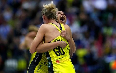 Karen Greig's outfit overcame a six-goal deficit en route to securing a dramatic 57-52 victory - Credit: GETTY IMAGES