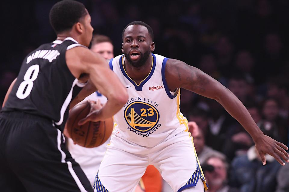 Draymond Green is focused on a number of things for the Warriors. (Getty)