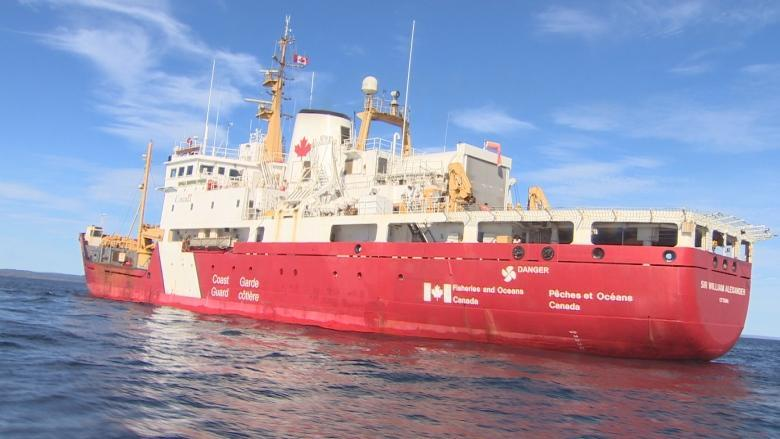 Mock disaster exercise staged in Northumberland Strait