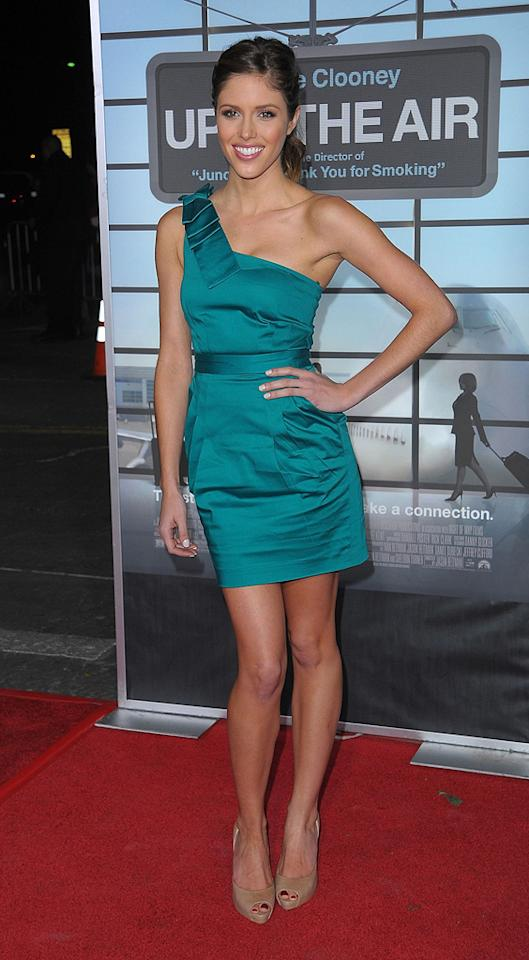 """<a href=""""http://movies.yahoo.com/movie/contributor/1809907387"""">Kayla Ewell</a> at the Los Angeles premiere of <a href=""""http://movies.yahoo.com/movie/1810062520/info"""">Up in the Air</a> - 11/30/2009"""