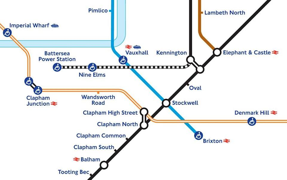 The Tube map now shows the extension to the Northern Line  (TfL)