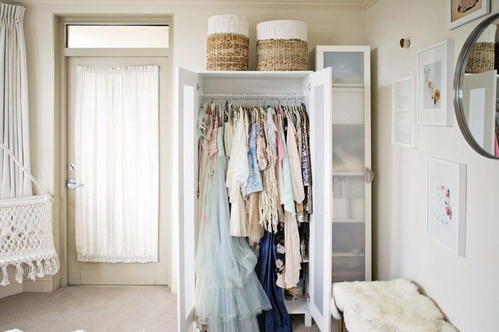 no closet no problem wardrobes are just as handy and can even make a