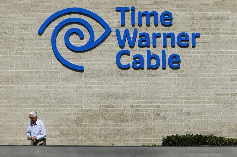 Time Warner Cable office is pictured in San Diego, California