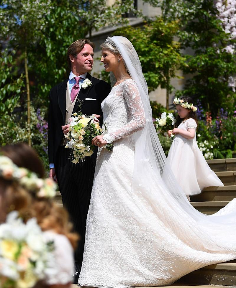 a7cb9caec1 My Favourite Wedding Guest Outfits From Today's Royal Nuptials