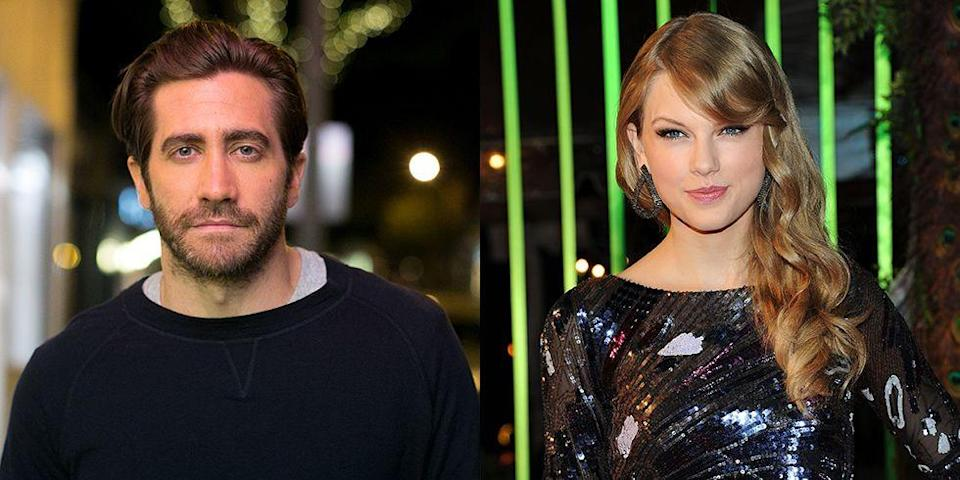 """<p>This infamously short-lived relationship can be traced back to Gwyneth Paltrow. The Oscar-winner <a href=""""http://www.dailymail.co.uk/tvshowbiz/article-1339791/Gwyneth-Paltrow-admits-playing-matchmaker-Jake-Gyllenhaal-Taylor-Swift.html"""" rel=""""nofollow noopener"""" target=""""_blank"""" data-ylk=""""slk:introduced"""" class=""""link rapid-noclick-resp"""">introduced</a> Gyllenhaal and Swift at a dinner party at her London home. The speck of a relationship is rumored to <a href=""""https://people.com/movies/jake-gyllenhaal-answers-questions-about-taylor-swift/"""" rel=""""nofollow noopener"""" target=""""_blank"""" data-ylk=""""slk:have been the inspiration"""" class=""""link rapid-noclick-resp"""">have been the inspiration</a> for two of Swift's songs: """"All Too Well"""" and """"We Are Never Ever Getting Back Together.""""</p>"""