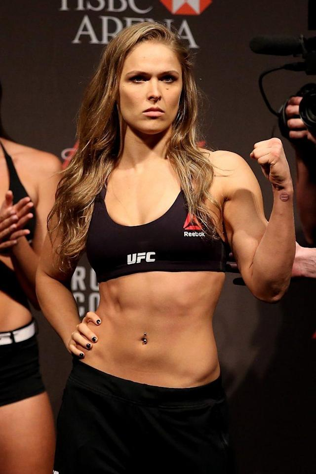 A 5th grader got the best of Ronda Rousey. (Getty)