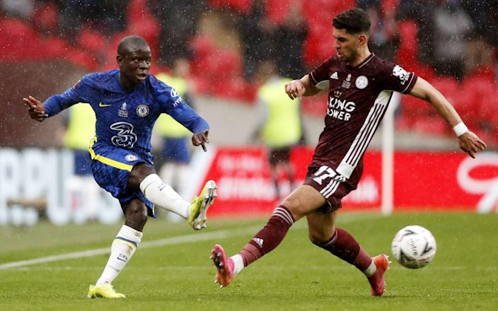 N'Golo Kante was only able to show his brilliance in spells at Wembley - SHUTTERSTOCK