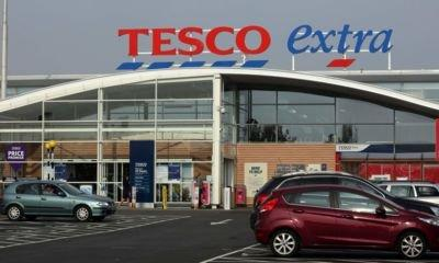 Tesco reports annual sales growth for the first time in seven years