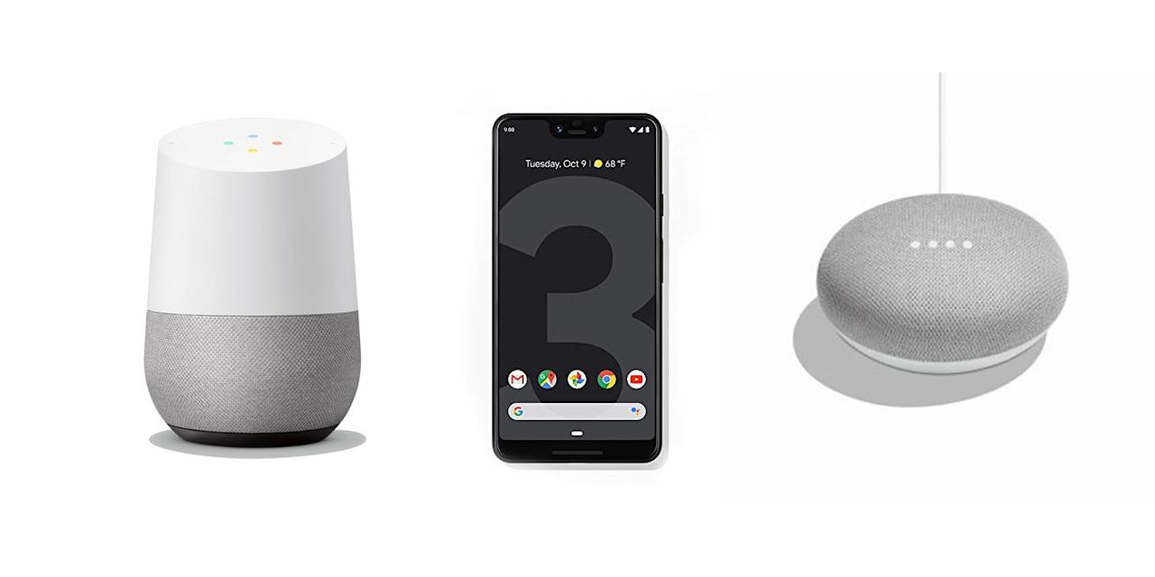"""<p>During today's <a href=""""https://www.popularmechanics.com/technology/gadgets/a29471062/google-pixel-4-livestream/"""" target=""""_blank"""">hardware event</a>, Google just announced a slew of <a href=""""https://www.popularmechanics.com/technology/gadgets/g29474001/google-pixel-4-event/"""" target=""""_blank"""">new products</a> like the Pixel 4, Home Mini, Pixel Buds, and more. While we're excited about all the new smartphone and smart home tech, the releases also bring more good news: A bunch of last-generation Google Home and Pixel products are now available at discounts on Walmart and Amazon. You may have to wait until the end of the month to get your hands on the Pixel 4 or until 2020 for the Pixel Buds, but you can start shopping these Google products now—and for much less.</p>"""