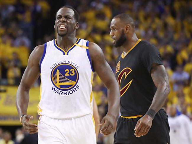 cheaper 9f36a a6f72 Draymond Green continues attack on LeBron James: 'You ...