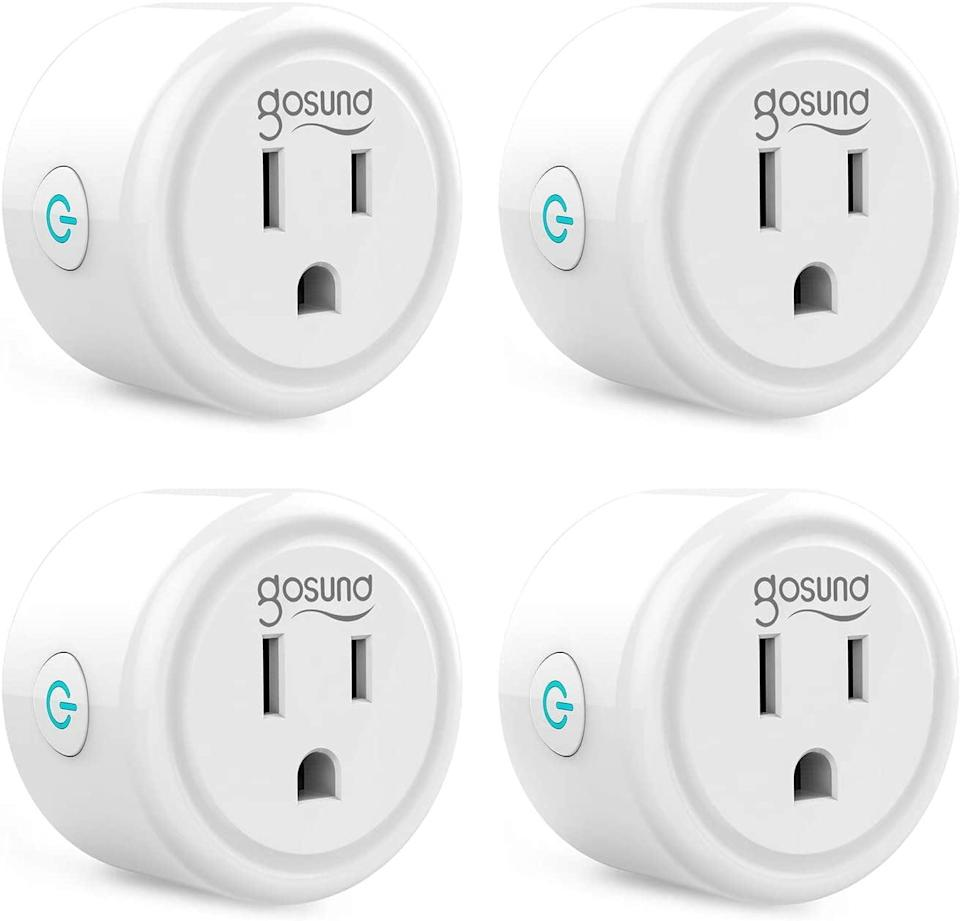 <p>These <span>Gosund Mini Wifi Outlet Works With Alexa</span> ($26) are so handy to have around.</p>