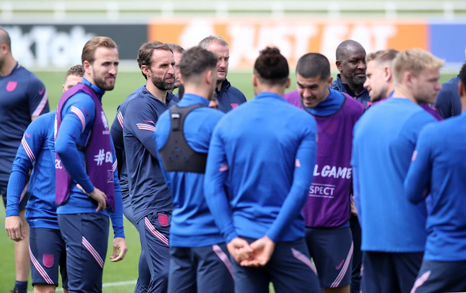 England in training (PA Wire)