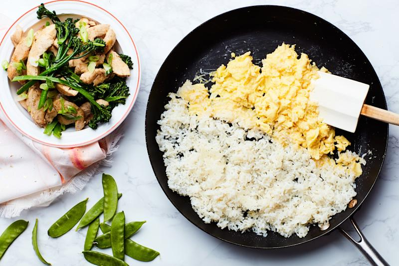 Follow these tips and—in less time than it takes to get delivery—you can make a batch of fresher, tastier, and healthier fried rice at home.