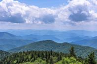 <p>The Blue Ridge Mountains make up another section of the Appalachian Mountain Range. They extend northward through Virginia and southward into North Georgia. One of the South's favorite drives, the Blue Ridge Parkway, winds through the range and offers views of verdant mountain vistas along the way.</p>