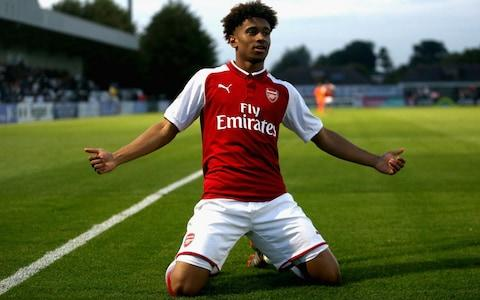 Reiss Nelson - Credit: Getty Images